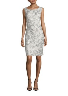 Calvin Klein Sequined Sleeveless Dress