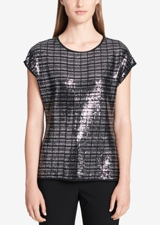 Calvin Klein Sequined Top