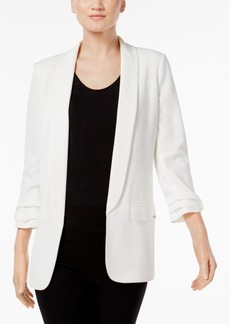 Calvin Klein Shawl-Collar Open Blazer