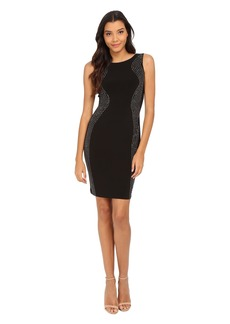 Calvin Klein Sheath with Beading Dress