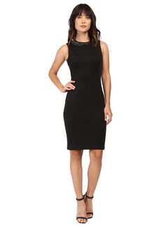Calvin Klein Sheath with Neck Trim CD6M1N6V