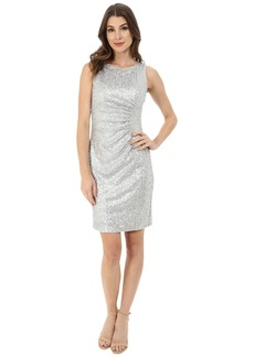 Calvin Klein Sheath with Side Ruching Dress