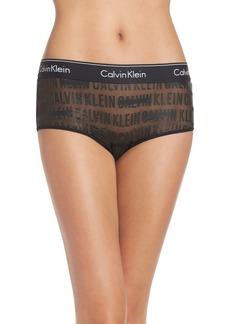 Calvin Klein Sheer Boyshorts