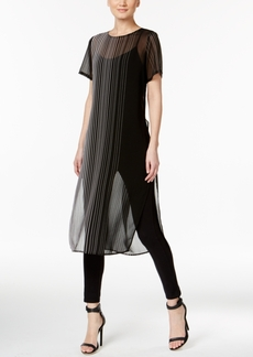 Calvin Klein Sheer Tunic Top
