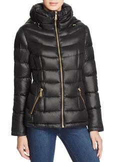 Calvin Klein Short Hooded Down Coat