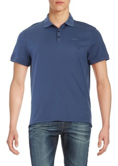 Calvin Klein Short Sleeve Cotton Polo