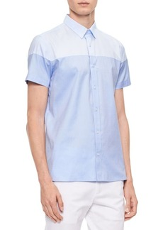 Calvin Klein Short-Sleeve Cotton Shirt