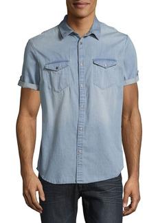Calvin Klein Short Sleeve Cotton Shirt