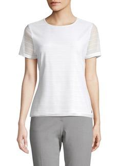 Calvin Klein Short Sleeve Knit Top