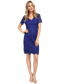 Calvin Klein Short Sleeve Lace Dress CD6L1597
