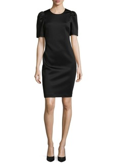 Calvin Klein Short-Sleeve Sheath Dress