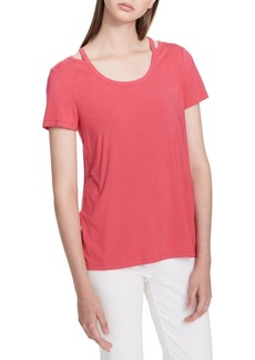 Calvin Klein Short-Sleeve Top