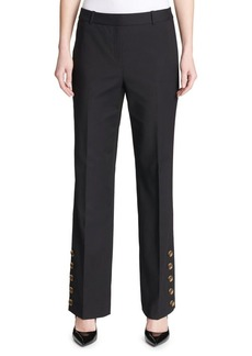 Calvin Klein Side-Button Pants