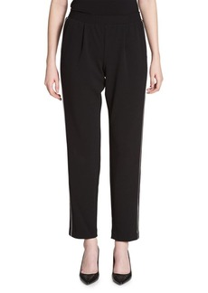 Calvin Klein Side-Piping Crepe Pants