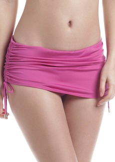 Calvin Klein Side Shirred Swim-Skirt