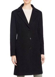 Calvin Klein Single-Breasted Button Front Coat