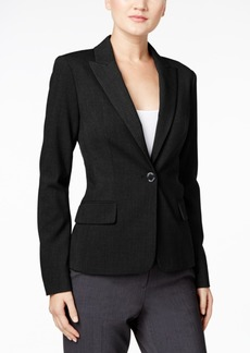 Calvin Klein Single-Button Stretch Blazer