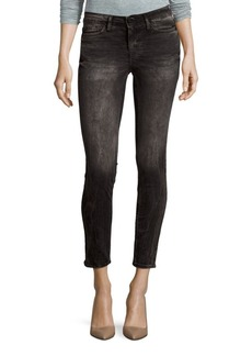 Calvin Klein Skinny-Fit Washed Jeans