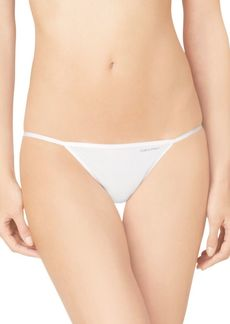 Calvin Klein Sleek String Bikini