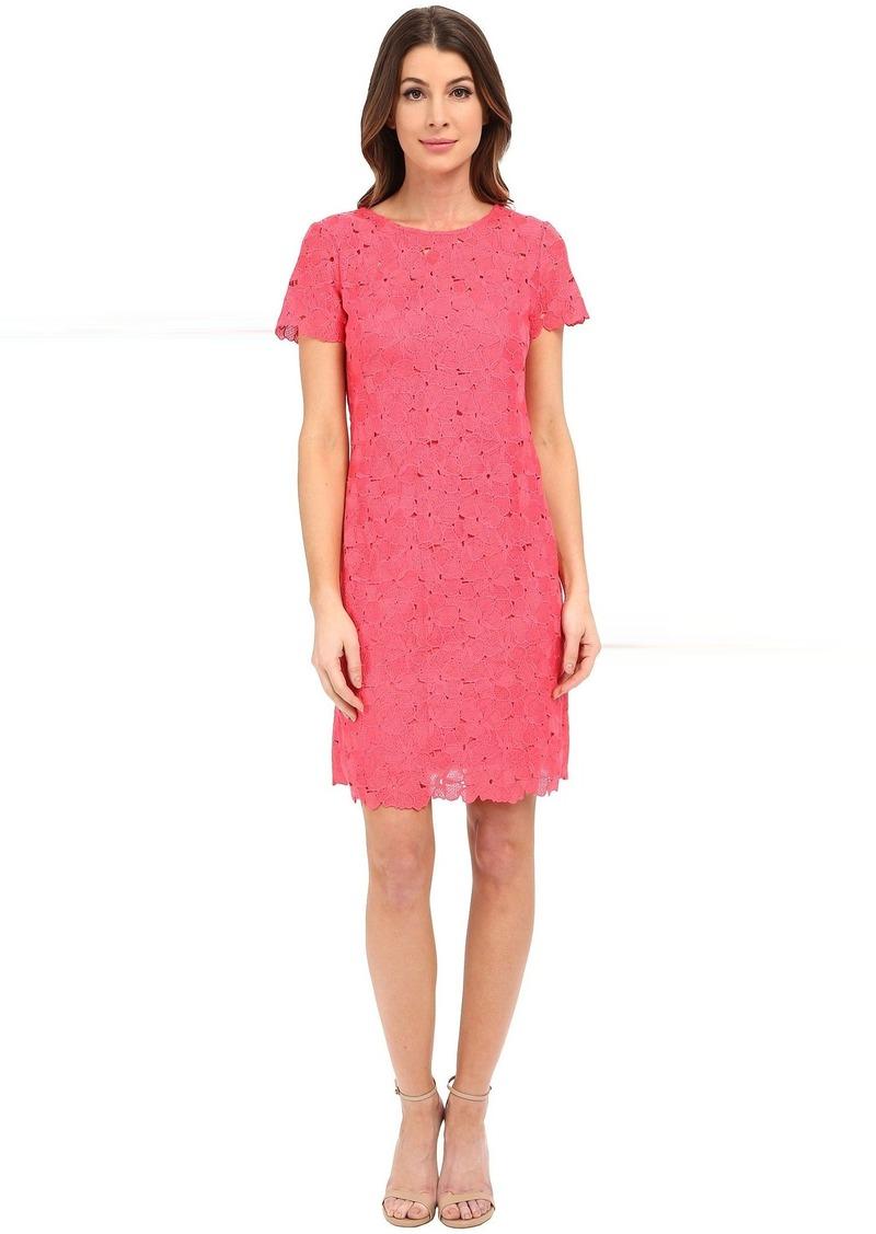 Calvin Klein Sleeved Lace Dress CD6L1U4Y