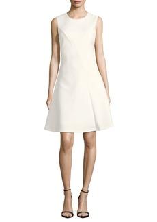Calvin Klein Sleeveless A-Line Dress