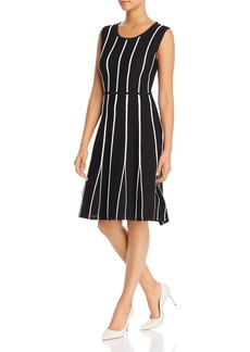 Calvin Klein Sleeveless Contrast-Seam Dress