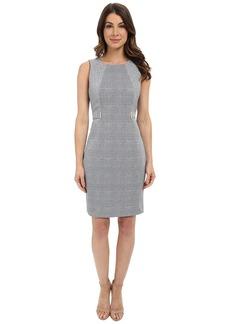Calvin Klein Sleeveless Dress w/ Side Blocking