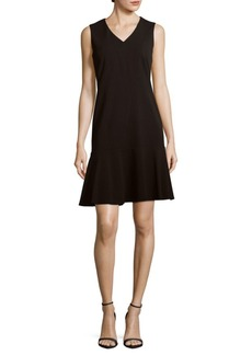 Calvin Klein Sleeveless Drop-Waist Dress