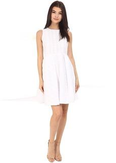 Calvin Klein Sleeveless Fit & Flair Dress CD6G4R9A