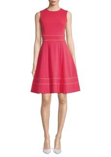 Calvin Klein Sleeveless Fit-&-Flare Dress