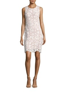 Calvin Klein Sleeveless Lace Dress