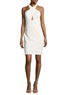 Calvin Klein Sleeveless Open-Back Dress