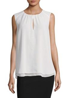 Calvin Klein Sleeveless Pullover Blouse