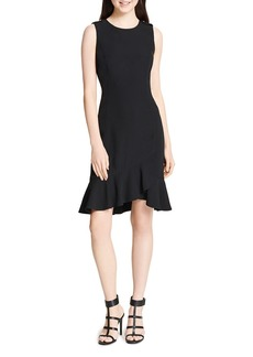 Calvin Klein Sleeveless Ruffle-Hem Dress