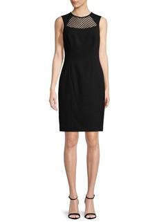Calvin Klein Sleeveless Sheath Dress
