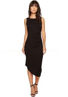 Calvin Klein Sleeveless Side Ruched Dress