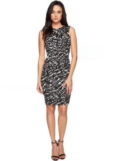 Calvin Klein Sleeveless Textured Sheath CD7E236U