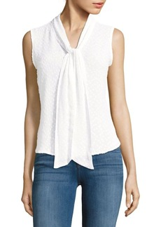 Calvin Klein Sleeveless Textured Top
