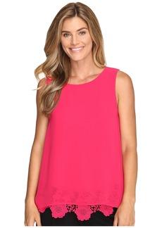 Calvin Klein Sleeveless Top w/ Lace Bottom