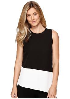 Calvin Klein Sleeveless Top with Angle Bottom