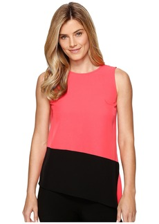 Calvin Klein Sleeveless Top with Angle Bottom