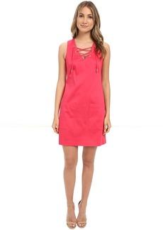 Calvin Klein Sleeveless Trapize Dress CD6G1Q7F