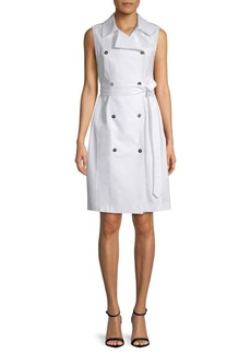 Calvin Klein Sleeveless Trench Dress
