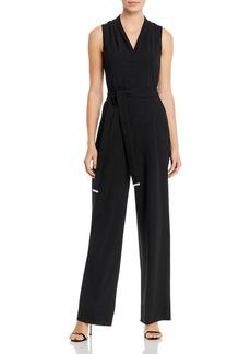 Calvin Klein Sleeveless V-Neck Jumpsuit