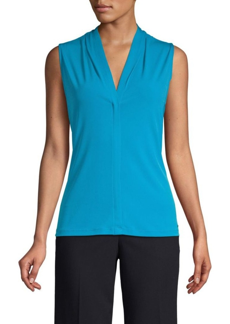 Calvin Klein Sleeveless V-Neck Top