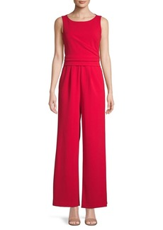 Calvin Klein Sleeveless Wide-Leg Jumpsuit