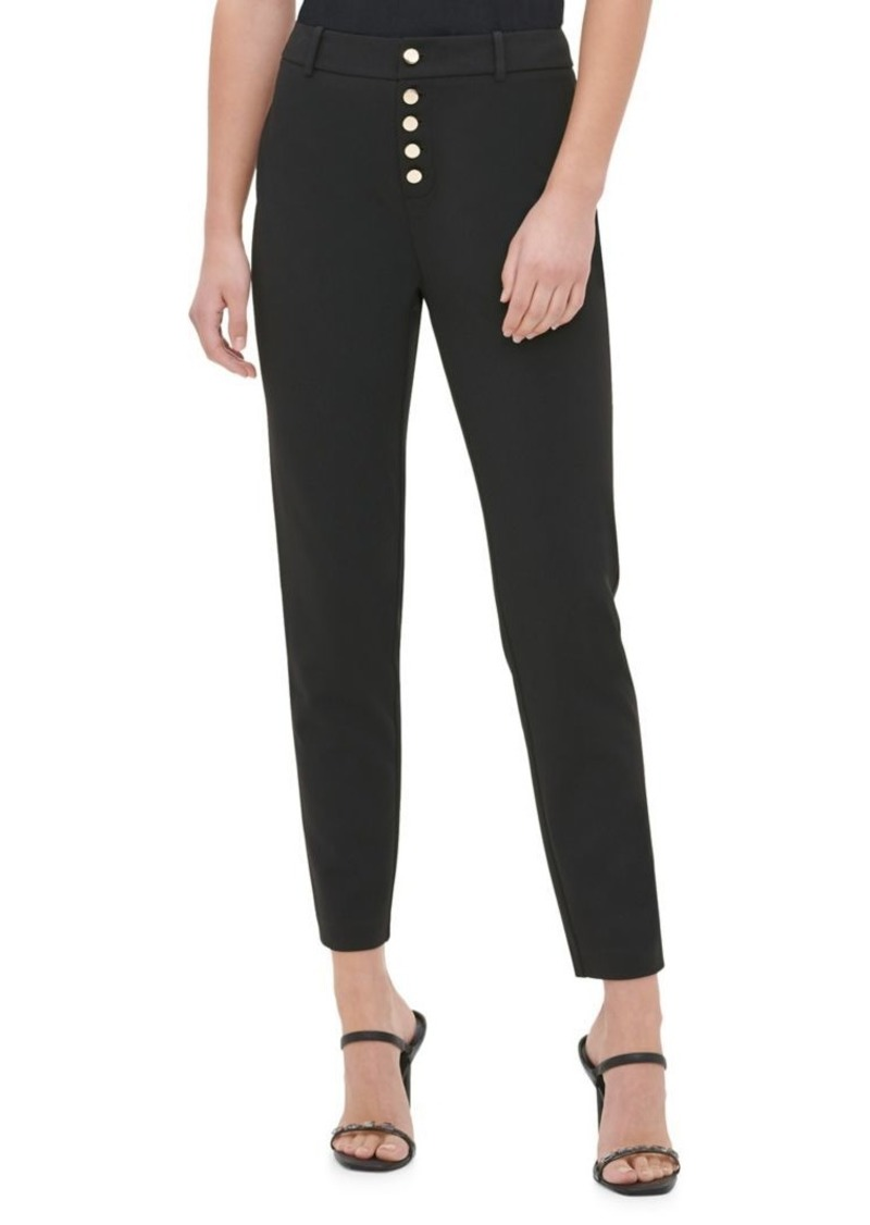 Calvin Klein Slim Button-Fly Pants
