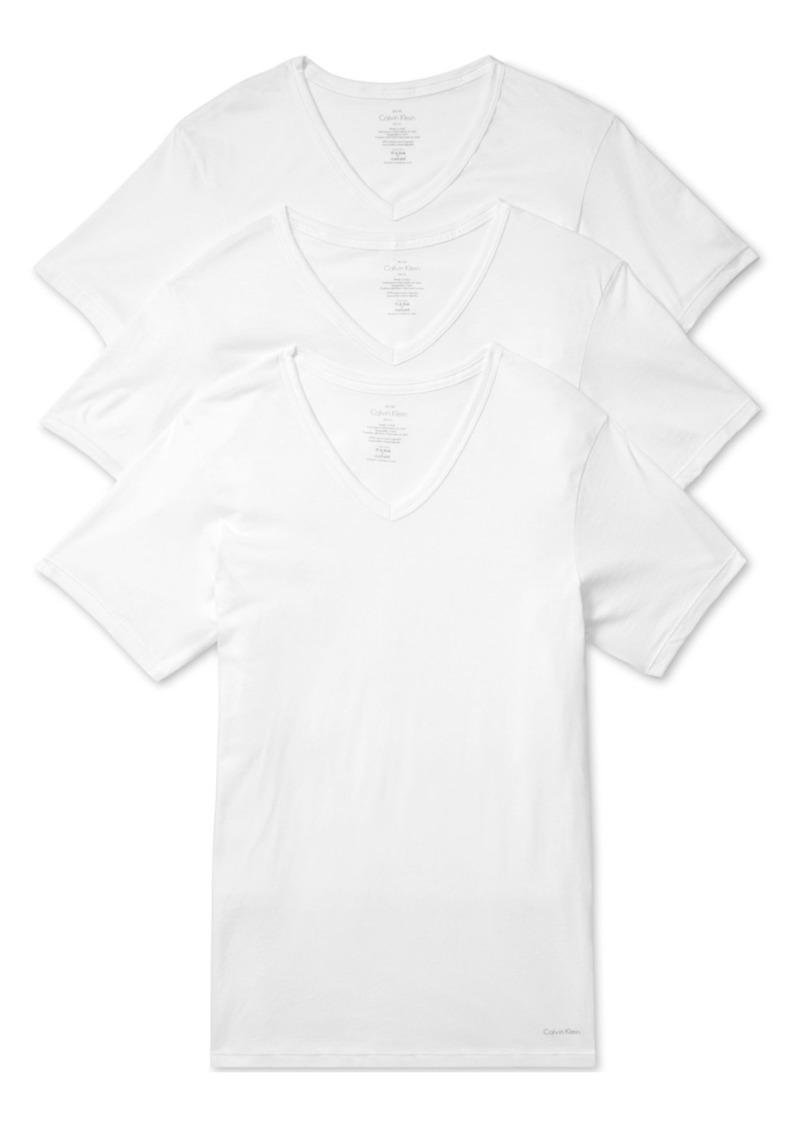 Calvin Klein Slim Fit 3-Pack Cotton T-Shirt