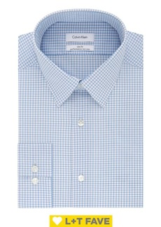 Calvin Klein Slim-Fit Check Dress Shirt