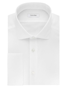 Calvin Klein Slim-Fit Dress Shirt with French Cuffs